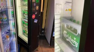 """Polizei """"entdeckt"""" Club hinter Fake-Kühlschrank in Späti – den andere schon kennen"""