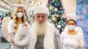 Der Weihnachtsmann hat jetzt Security-Engel
