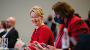 Franziska Giffey von Berliner SPD als Spitzenkandidatin nominiert