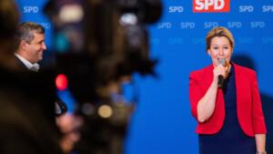Franziska Giffey will Berlins erste Regierende werden