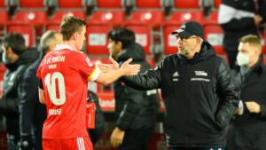 """Union-Coach Fischer über Kruse: """"Ich bin bisher sehr zufrieden"""""""