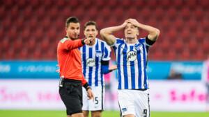 0:0! Hertha erkämpft sich ein Remis in Leverkusen