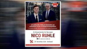 Brandenburgs Ministerpräsident Woidke macht verbotene Wahlwerbung