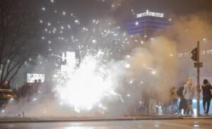 Gewerkschaft: Berliner Polizei zu Silvester überfordert