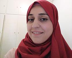 Ayat Al Huseein: Psychosozialer Mitarbeiter der Flüchtlingsgemeinschaft hilft anderen Flüchtlingen bei der Bewältigung psychischer Probleme
