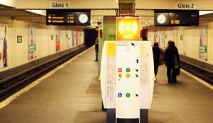 Französische Straße wird wieder zum Geisterbahnhof