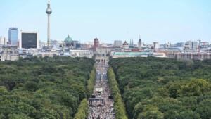 Querdenken plant Demo mit 22.5000 Teilnehmern an Silvester in Berlin