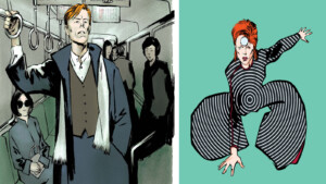David-Bowie-Comic aus Berlin