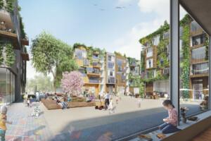 Neues Quartier in Tegel soll das weltgrößte in Holzbauweise werden