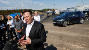 Talk bei Axel Springer – Das sagt Elon Musk über die Fortschritte seiner Giga-Factory in Grünheide